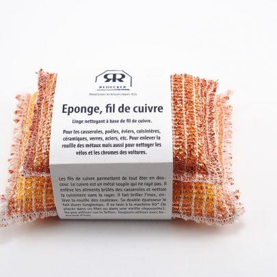 Éponges en fil de Cuivre