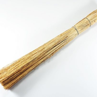 """Balayette sorgho ronde """" écouvette """". Longueur 50 cm"""